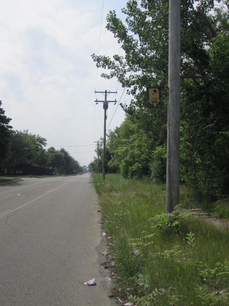 Third Street bus Stop