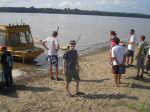 Take a ride on the Amazon River. Exit the beach
